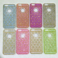 apple insurance - TPU glitter diamond mobile phone insurance phone covers phone accessories fashion beautiful for iPhone cute phone cases