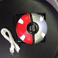 battery operated phone - Poke Power Bank mAh Poke Ball Shaped USB LED External Battery Charger Phone MP3 MP4 etc using Charging
