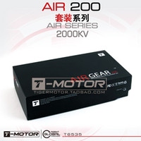 Wholesale T Motor AIR GEAR multirotor driving equipment set AIR2205 kv2000 plastic prop