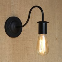 cheap ndoor lighting wall lamps simple modern industrial vintage black iron wall lamp loft style cheap wall lighting