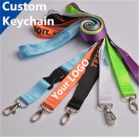 badge making - Designer carabiner Custom Made Keychains Plain Blank Printing Logo Nylon Hanging Belt Lanyard Exhibition Badge Sling Personaliznalized Gifts