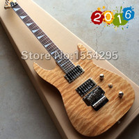 Wholesale New Factory Custom J Electric guitar with Tremolo Quilted Maple top Guitarra All color are available Retail