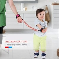 Wholesale Children Kids Safety Wristband Anti lost Wrist Link Band Baby Toddler Harness Leash Strap Adjustable Braclet