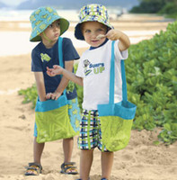 Sacs de rangement Fashion Beach Mesh Sacs Sand Away Collection Toy Bag Stockage Pour Sea Shell Enfants Enfants Tote Organisateur Mommy's Helper