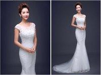 Wholesale The new Wedding dresses tunics elegant fashion and trailing in summer