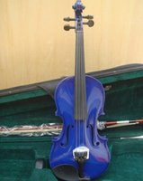 Wholesale 4 Size Available Violin Full Set with Bow Rosin Case Colorful Violins Available