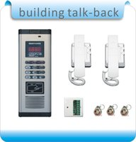 Wholesale DIY RFID access control system doorphone Building intercom system doorphone decoder RFID cards