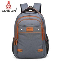 Wholesale Edison Large Capacity LaptopWaterproof Outside business Bag to inchs Shoulder Backpack