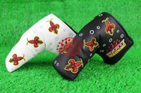Wholesale NEW golf Clubs Cover USE ONLY T Golf Putter HeadCover black Color club Cover pc