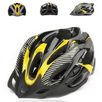 Wholesale Foray Cycling g Ultralight Helmet Bike Trinity Mountain BMX Road Racing Comfort Bicycle Cycle Helmets Visor with Lining Pad