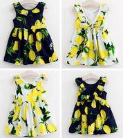 Cheap girls flower tshirt dress Best new girls
