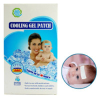 baby headache - CE Certificate Cooling Gel Sheet x12cm Baby Fever Patch Pieces Boxes Natural Headache Stress Relief Pad