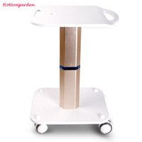aluminum wheels used - Trolley Stand Styling Pedestal Rolling Cart Roller Wheel Aluminum ABS For Cavitation Lipo Laser Beauty Equipment Use