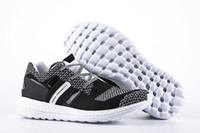Wholesale 2016 AAA quality Y3 PURE Primeknit Boost ZG Kint Men s Athletic Shoes Pure Boost five Mens Sports Running Shoes size eur