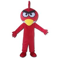 activities park - The Red Angry Bird Game Character Mascot Bird Supermarket Promotion Activity Suit Amusement Park Activity Suit