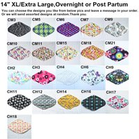 bamboo posts - U PICK Overnight Post partum quot Reusable Washable Charcoal Bamboo Cloth Pads Menstrual Sanitary Mama Pads Extra Large XL Choices