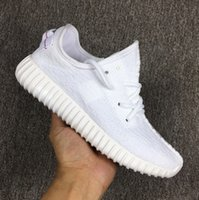 best rubber sole - West Kanye Boost All White Sneaker Denim Breather Canvas Quality Women And Mens Laceshoes Running Shoes Best Good Sole