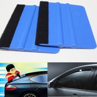 squeegees - YAOMENG Blue color Plastic Car Sticker Vinyl Film Wrapping Tools Plastic PP Squeegee cm cm DHL