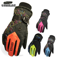 Wholesale Smalotus Colors Anti Slip Windproof Couple Outdoor Sports Ski Cycling Thickened Warm Lovers Winter Gloves Christmas Gifts