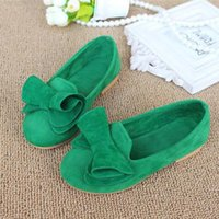 Wholesale Spring And Autumn Children Female Flat Sneakers Princess Kids Shoes New Brand Sweet Girls Flats Loafers Size