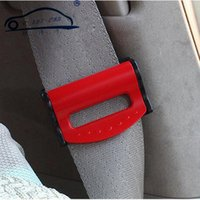 Wholesale Universal Car Seat Belts Clips Safety Adjustable Auto SeatBelt Stopper Buckle Plastic Clip Useful Colors W057