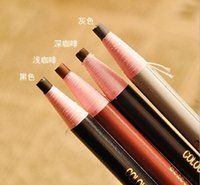 Wholesale Pull eyebrow pencil easy to color eyeliner is not blooming makeup eyebrow pencil soft cable DHU010