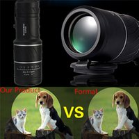 Wholesale High Quality Mini x52 Dual for Focus Optic Lens Day Night Vision Armoring Travel Monocular Telescope Tourism Scope Binoculars