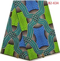 african wax prints - ITEM NO B2 K34 HIGH QUALITY SUPER WAX HOLLANDAIS YARD cotton fabric african wax prints fabric DUTCH WAX FABRIC FOR SEWING