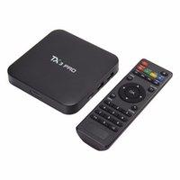Wholesale Canada Stock TX3 Pro TV Box Android Smart TV Box Amlogic S905X Quad Core GB GB ROM K G WiFi Multi Media Player