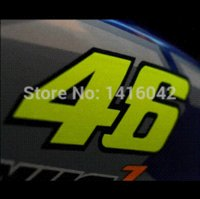 Wholesale moto GP rossi helmet sticker vinyl plastic M motorcycle decal valentino rossi decal decoration and protect