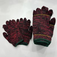 Wholesale work Gloves Nylon Kniting Labor Gardening Gloves workplace safety suppliers golves pair per dozens security protect