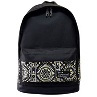 Wholesale 4 Styles Hot Sale Womens Men Casual Girl School Backpack Fashion Canvas Double Shoulder Bag Rucksack Outdoor Travel Bags