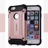 Wholesale SGP Hybrid Armor Heavy Duty Slim Tough case PC TPU ShockProof cover for iphone5S S i6 plus G530 galaxy S7 S7 edge LG G4 G5 K10 K8 LS770