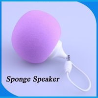 backpacks speakers - Hot Sale Fashion and Cute Mini Sponge Loudspeakers Subwoofers Portable Backpack Independent Switch Colorful