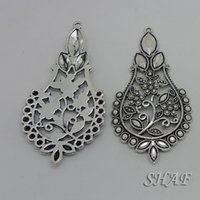 Wholesale floating charms DIY jewelry parts neklacts pendant accessories charm Hollow out hang x38mm