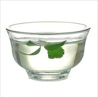 Wholesale Glass cup ml Tranparent Filter Cup high quality glass material cm water tea mug drinkware Q