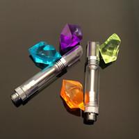Wholesale USA popular glass cbd atomizer ceramic coil vape cartridge ceramic coil atomizer CE3 o pen vaporizer with