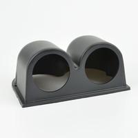 Wholesale 52mm Auto motorcycle Racing Refit auto gauge pod black double holes Holder