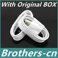 Wholesale 1M Ft Micro V USB Cable Sync Data Cords Charger Line Wire With BOX for All Android Phones