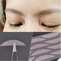 Wholesale 120 Pair Fashion Seamless Invisible Lace Mesh Gauze Eye Stickers Double Eyelid Tape Eyelid Paste Magic Beauty Makeup Eyeli