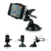 Wholesale 2016 hot sale car cellphone holder high quality GPS cellphone mount degree adjustable strong suction holder for iphone samsung