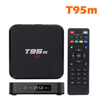 add display - Android TV BOX T95m Amlogic S905 Android G G EMMC K Kodi16 Loaded add ons LED display set top Smart TV