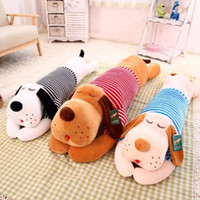 Wholesale Stuffed toy plush dog long pillow home decor gift for children