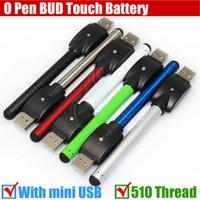 3.0ml battery smoking - Colorful Bud touch battery mah Thread O Pen CE3 atomizers CBD thick Oil thick Waxy Smoking wax Tank vape mini usb charger ecigs