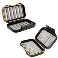 Wholesale ABS Plastic Foam Fly Fishing Lure Bait Hook Storage Case Box Tool Useful F00136 FASH