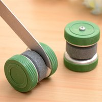 Wholesale New Arrival Cheap Round Grindstone sharpening stone Knife Sharpener Stone