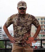 Wholesale New Arrival Chiefs Create Kryptek Mandrake T Shirt Short Sleeve T Shirt Tactical T Shirt SKU12050484