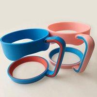 Wholesale 100pcs yeti Cups Handle for Oz YETI Rambler Tumbler Handle Fit For ounce Yeti cup Mugs Portable Plastic coffee mug handle DHL