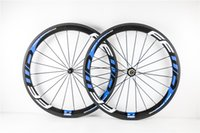 Wholesale ruedas carbono carretera carbon wheel ffwd china road bike clincher or tubular wheelset mm with powerway R36 hub