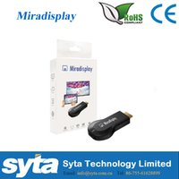 Wholesale Miradisplay AM8252 High speed Miradisplay Wifi Display MiraScreen OTA TV Stick Dongle Better Than EZCAST Miracast Smart TV Stick Dongle U50